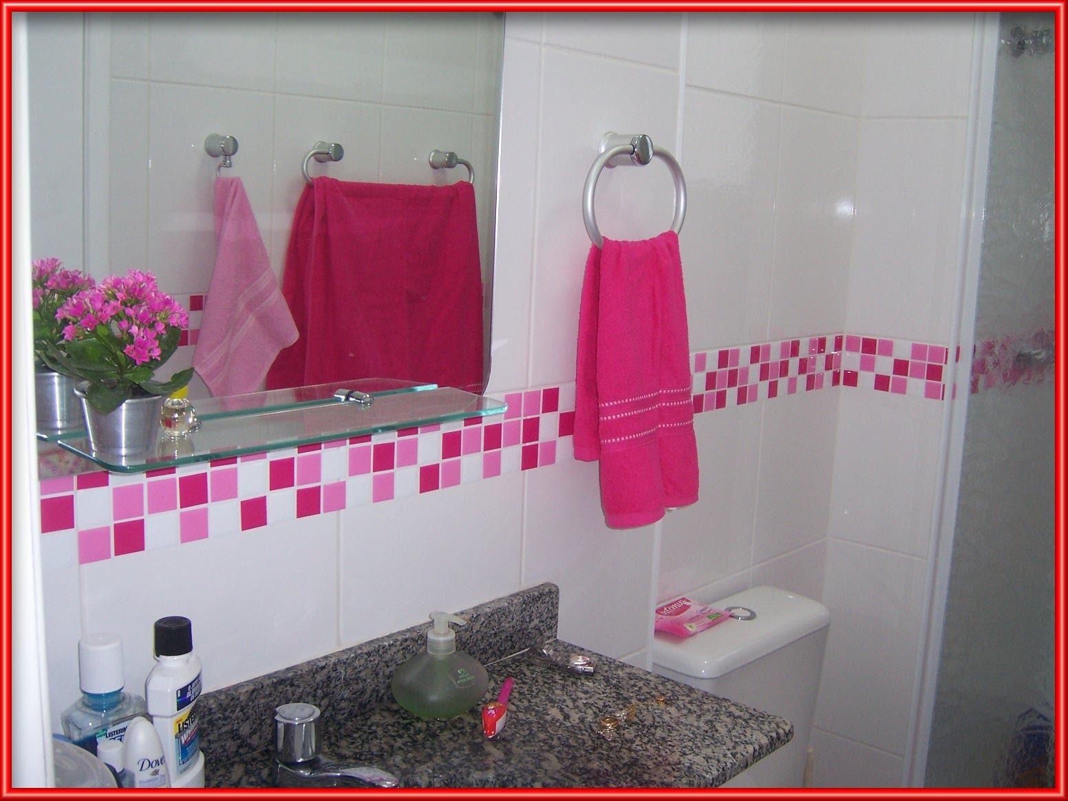 Pastilhas de banheiro Falk Art e Decoração #B91214 1552 1164
