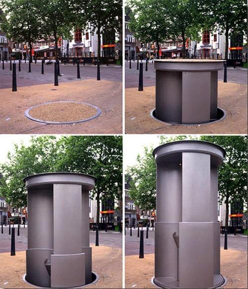 Solução para banheiros públicos