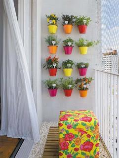 horta+vertical+varanda+vasos