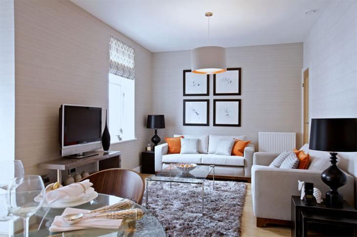 8-sala-de-tv-pequena-com-dois-sofás
