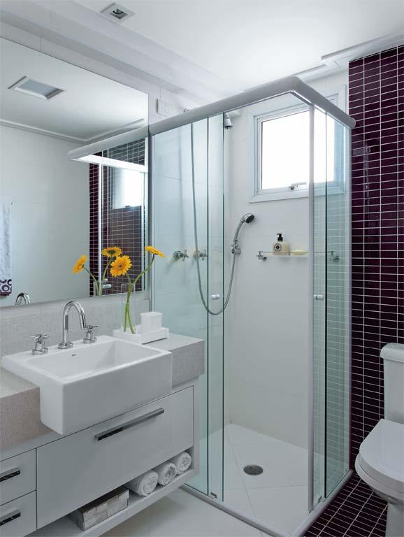 decoracao banheiro clean : decoracao banheiro clean:Clean – use uma decoração prática, bonita e refinada.