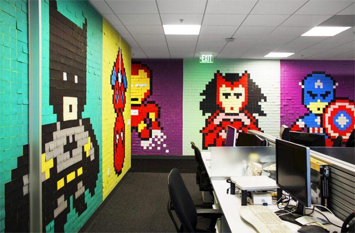 2-escritório-super-herois-8-bit