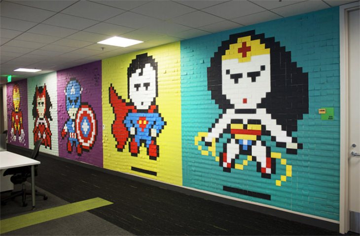 7-escritório-super-herois-8-bit