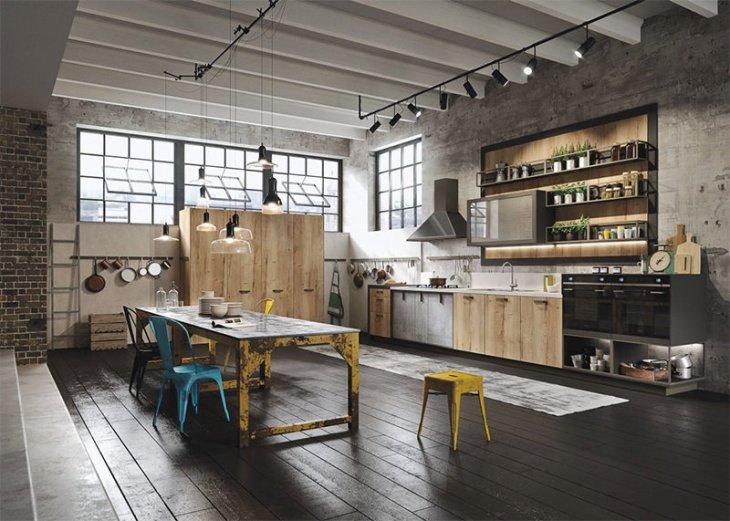 12-cozinha-pendentes-metal-decorada