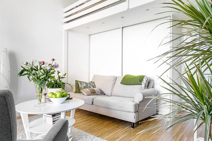 3-sala-pequena-escandinava-sofá-cinza