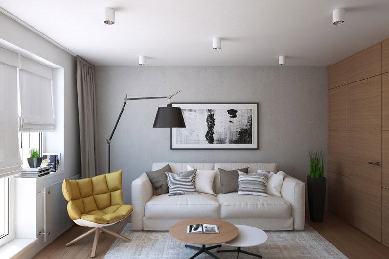 Se inspire em um apartamento pequeno e moderno u2013 Falk # Decoração De Apartamentos Modernos E Pequenos