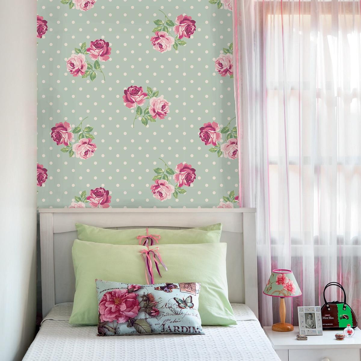 Como escolher papel de parede para ambientes pequenos for Papel de pared barato