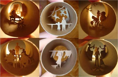 Arte-de-papel-y-cartón-reciclado-de-Anastassia-Elias